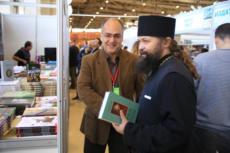 Сейед Нассер Табаи и архимандрит Дионисий Шленов