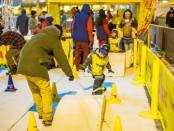 дети спорт сноуборд