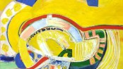 29. Pinseserien III_Пятидесятница III (1968) Oil_Canvas (120x120 cm)