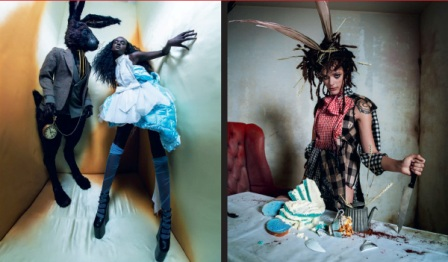 Алиса и Кролик — Даки Тот; Мартовский заяц — Саша Лейн. Фото предоставлено пресс-службой МАММ