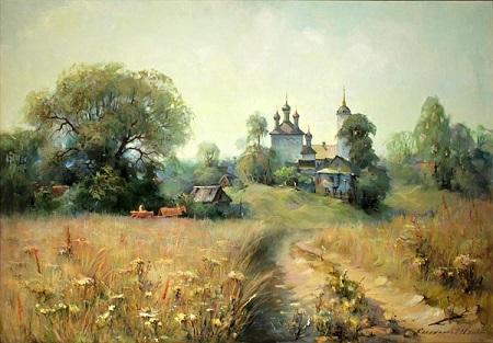 Калашников+А.А.+__Деревня+Родники__+2004г.+х
