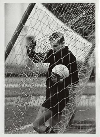 Гол... Лев Яшин. 1970. Из собрания МАММ.