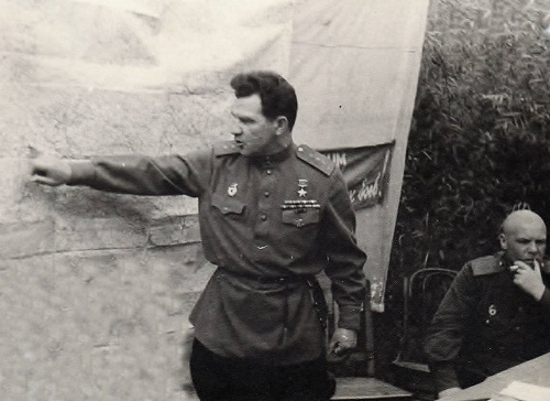 Василий Чуйков во время войны