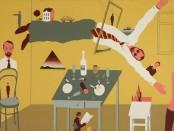 В.Д. Пивоваров. Московская вечеринка. 1971. Государственная Третьяковская галерея