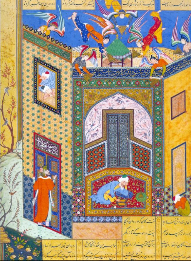 иллюстрация к книге Джами