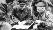 Генерал армии Жуков Г.К. под Ельней, 1941г.
